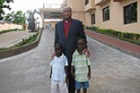 Bishop Gilliard & Adopted Sons in Liberia